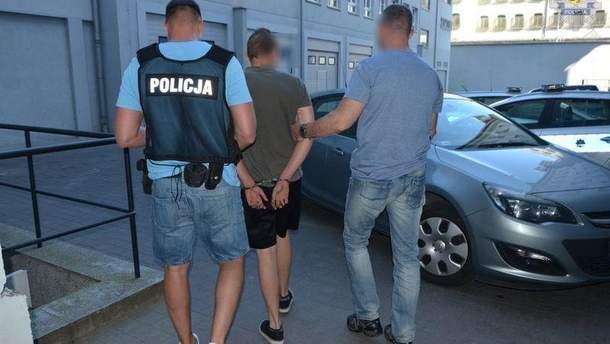 Украинца за нетрезвое вождение задержали в Гданьске