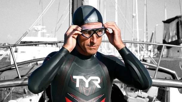 Французский 51-летний пловец Бенуа Леком