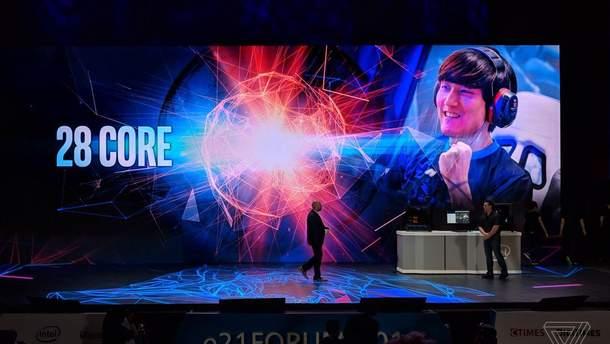 28-ядерный процессор Intel