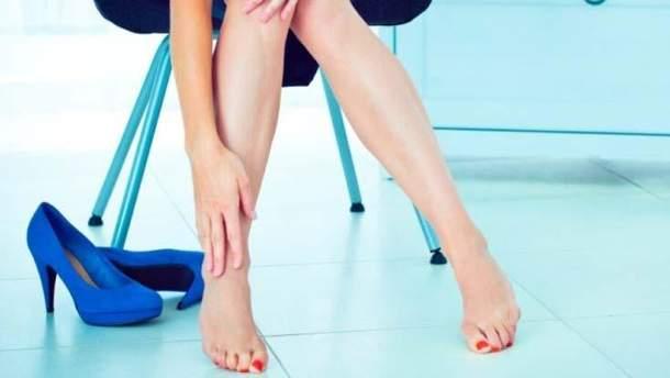 Набрякли ноги: що робити