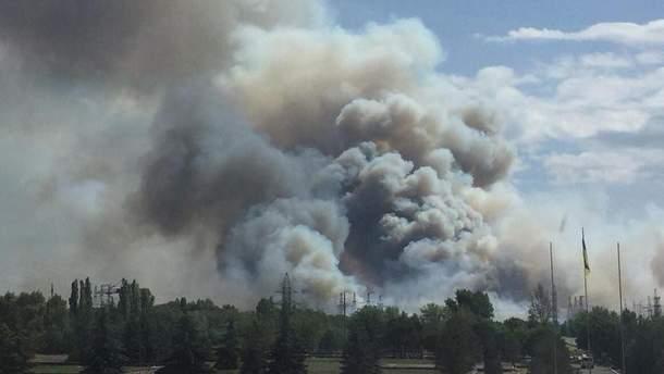 Пожежа в Чорнобилі 5 червня 2018: горить найбільш радіаційна зона