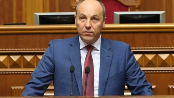 Парубій заявив, що Україна ніколи не визнає російський вирок Роману Сущенку