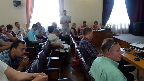 Во время сессии райсовета в Кропивницком некоторые депутаты поддержали русский и пренебрежительно высказались об украинском языке