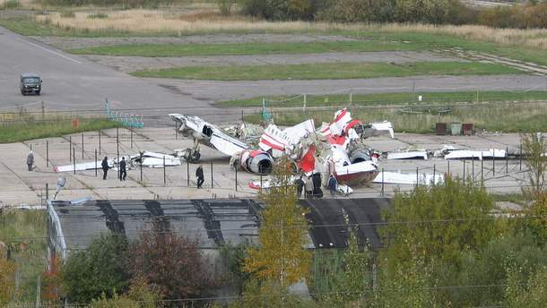 Смоленська катастрофа: Ту-154М