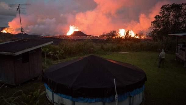 В Гватемале произошло новое извержение вулкана