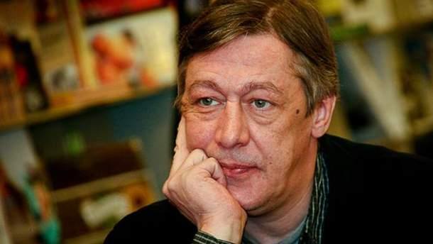 Актор Михайло Єфремов запропонував Росії заплатити Україні газом за анексію Криму