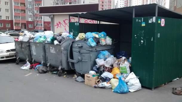 В Донецке не вывозят мусор