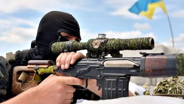 Украинский снайпер ликвидировал командира народной милиции оккупированной Луганщины