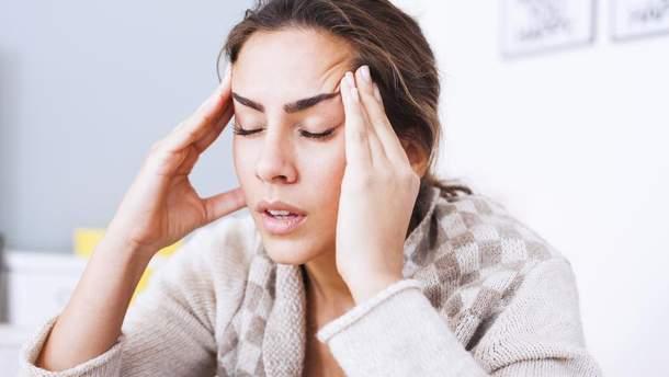 Симптоми мігрені