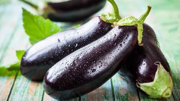Баклажан  здатний знизити рівень холестерину в організмі