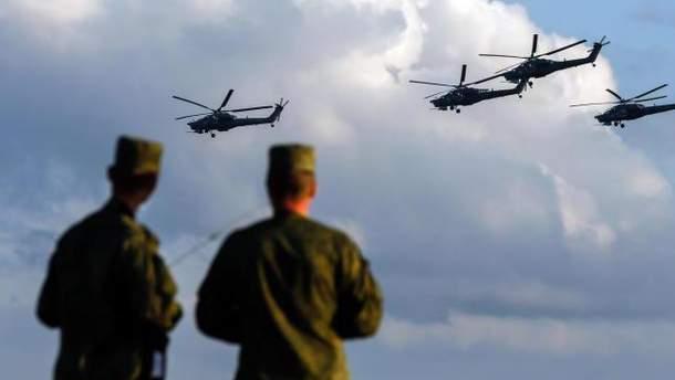 Росія проводить військові навчання в Криму