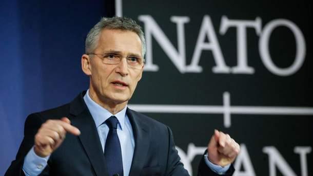 У НАТО прокоментували пропозицію Італії переглянути санкції проти Росії