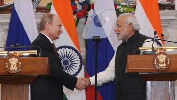 Індія продовжить військово-технічну співпрацю з Росією