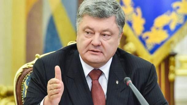 Порошенко розповів про війну на Донбасі