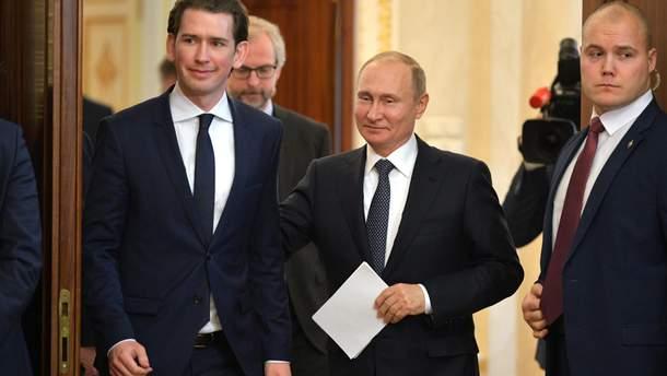 Австрия будет работать над улучшением отношений с Россией