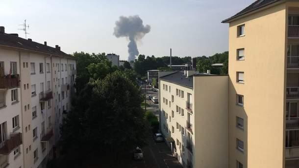 Во Франции в зернохранилище прогремел взрыв