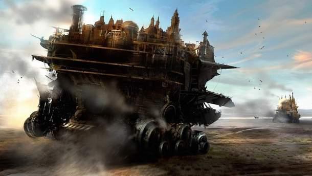 """Ілюстрація до фільму """"Смертні машини"""""""