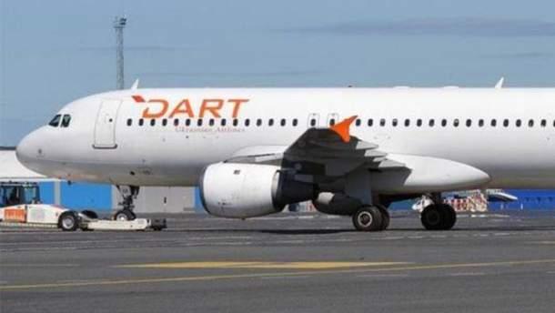 ВСША ввели санкции против украинской авиакомпании