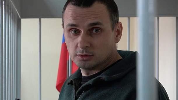 Олег Сенцов з кожним днем свого голодування помітно слабшає