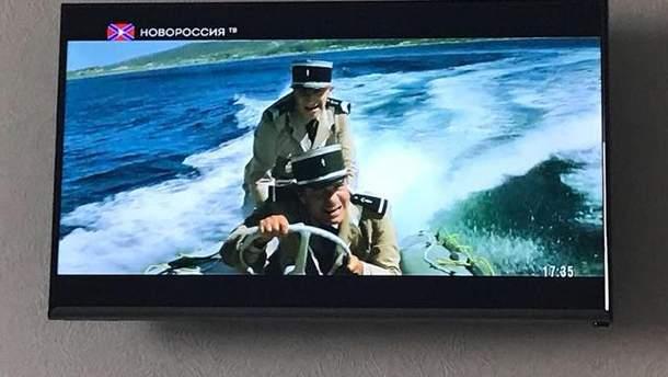 Телебачення проросійських бойовиків на Одещині