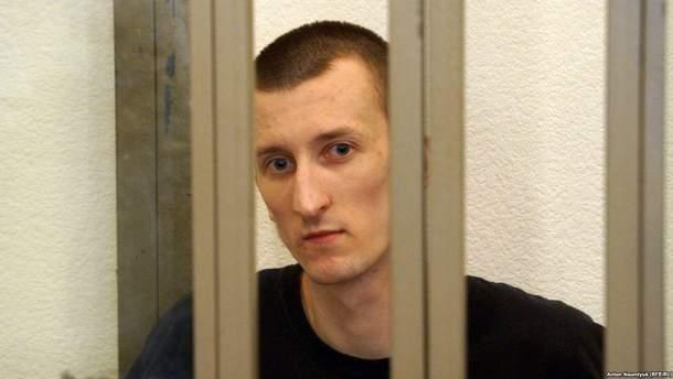 Александр Кольченко прекратил голодовку