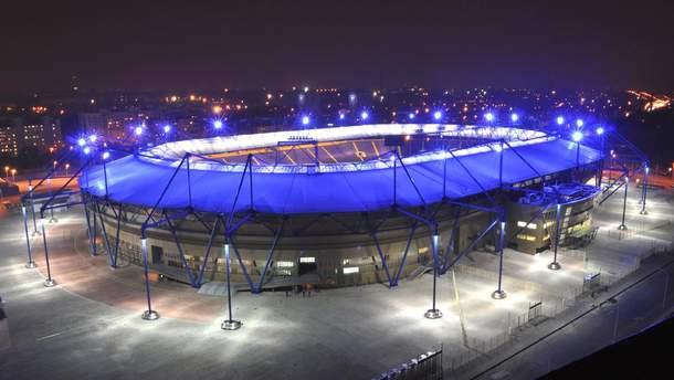 """Стадіон """"Металіст"""" у Харкові може претендувати на фінал Ліги Європи чи Суперкубку УЄФА"""