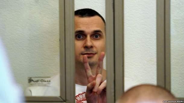 Олег Сенцов голодает 26-ой день
