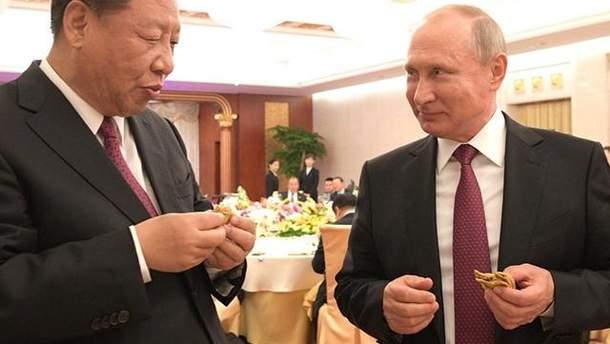 Путин слепил пельмени