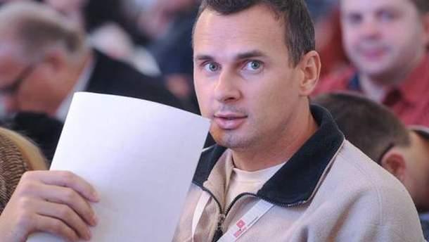 Олег Сенцов написав листа із російської в'язниці