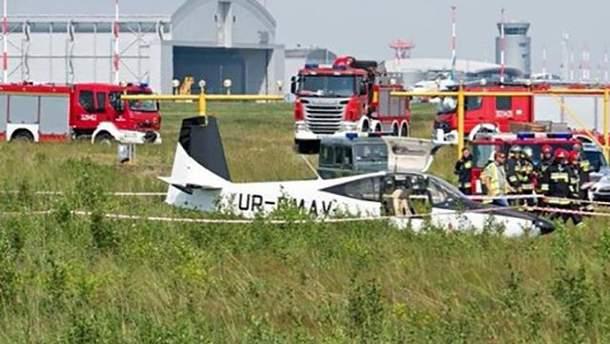 У Польщі розбився український літак