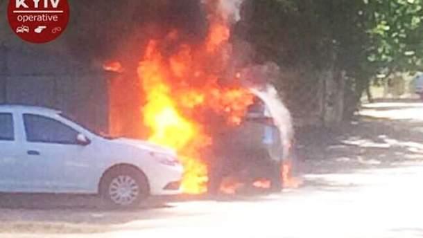 Вибух авто в Києві