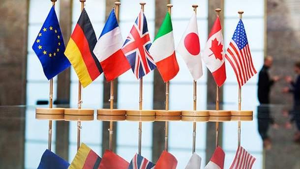G7 осудила аннексию Крыма и пригрозила России новыми санкциями