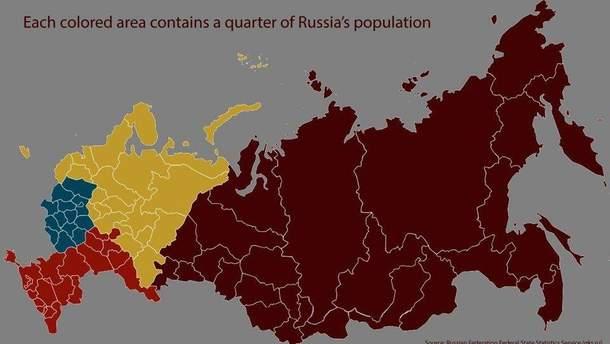 """Карта з """"російським"""" Кримом"""