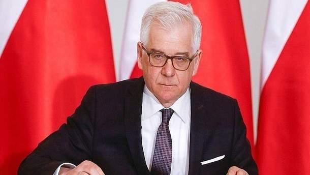 Глава МЗС Польщі Чапутович закликав змінити Закон про Інститут нацпам'яті