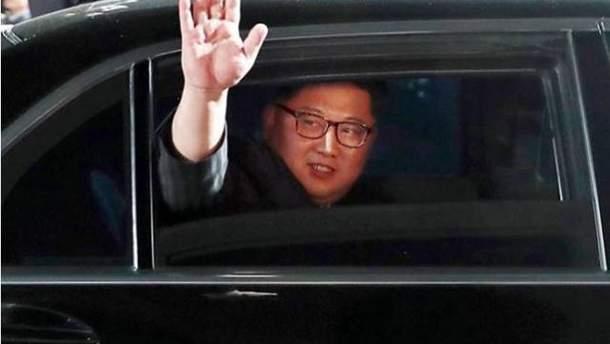 Ким Чени Ын в Сингапуре