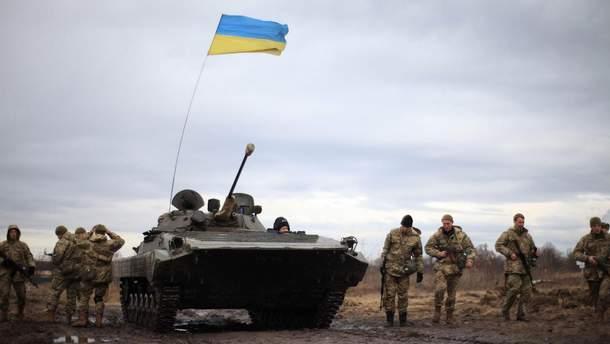 Украинские военные продвинулись вперед на оккупированном Донбассе