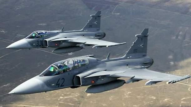 ВВС Венгрии привели вбоевую готовность из-за украинского самолета