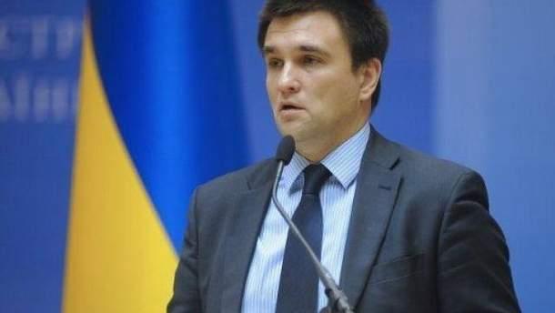 Климкин прокомментировал скандальные высказывания нардепа Мураева о политзаключенном Сенцове