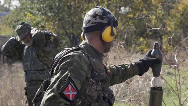Бойовики застосували на Донбасі 120-міліметрові міномети