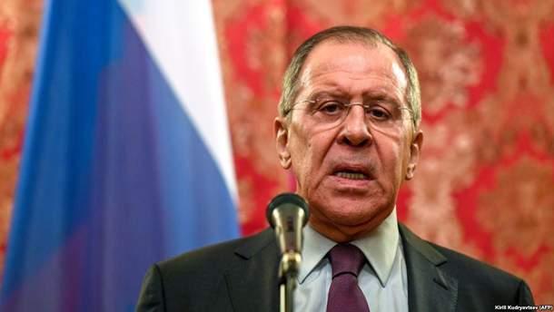 """Лавров заявив про розробку """"дорожньої карти"""" ля звільнення утримуваних осіб"""