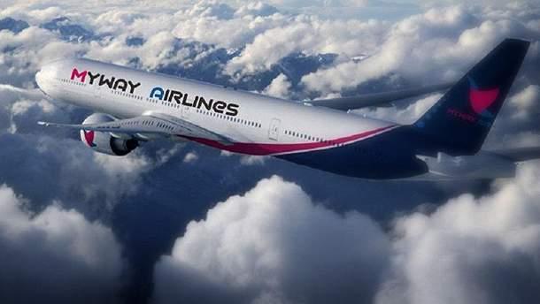 Між Україною та Грузією почав літати новий рейс Myway Airlines
