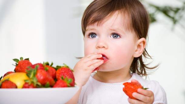 Алергія на полуницю у дітей