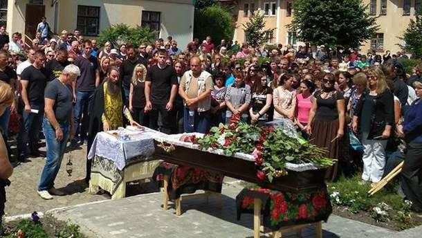 Похороны Николая Бычко