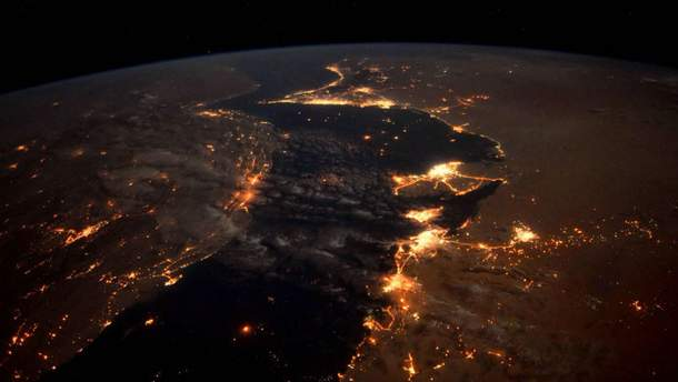 Персидский залив из космоса