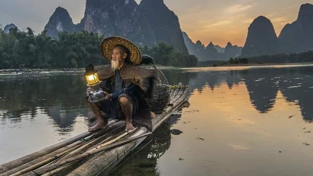 Рыбак в Китае выловил рыбу-мутанта