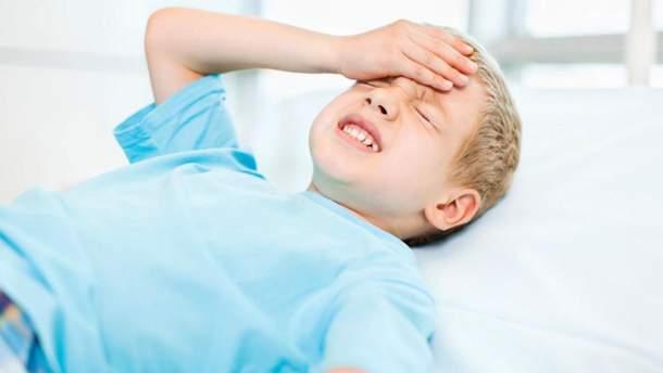 Струс мозку у дитини: симптоми