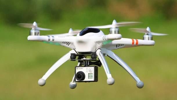 Запрет на полеты дронами