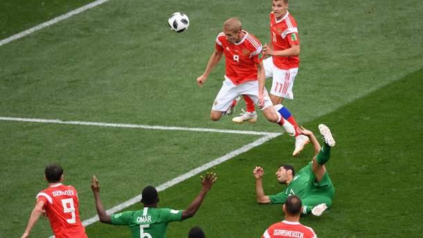 Росія – Саудівська Аравія відео голів та моментів матчу Чемпіонату світу 2018