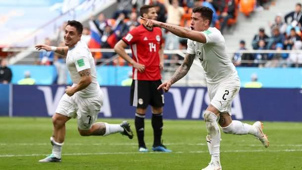 Єгипет – Уругвай: відео голів та моментів матчу Чемпіонату світу 2018