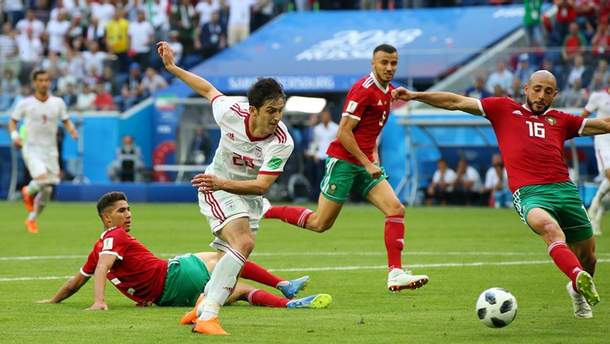 Марокко – Иран: видео голов и моментов матча Чемпионата мира 2018